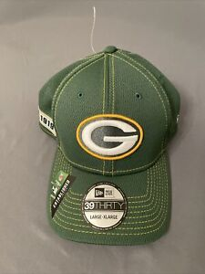 New Era 39 Thirty Green Bay Packers 1919 Hat Cap (Large/XL, Green) MSRP $34