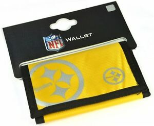 Pittsburgh Steelers NFL nylon wallet   (bb)