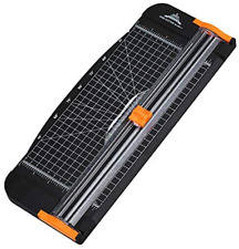 Paper Cutter Trimmer Titanium Scrapbooking With Finger Protection Safe Cutter