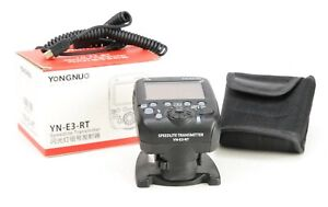 Yongnuo Speedlite Transmitter YN-E3-RT  Flash Controller Boxed, Stand & Case EXC