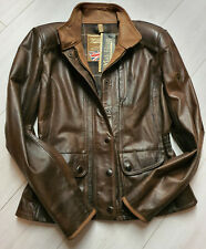 MATCHLESS  Damen  Leder Biker Jacke Kensington Antique Brwon  Gr. (46) XL