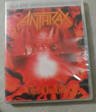 """Anthrax """"Chile On Hell"""" DVD Concert Tour Video Band Music 2014 Brand New Sealed"""