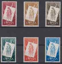 1956 SPAIN - SERIE EDIFIL 1200 - 1205 COMPLETA NUEVO MNH ESPAÑA SIN FIJASELLOS