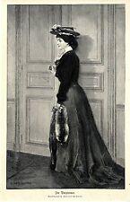 H. Fenner- Behmer Im Vorzimmer Frauen- Motiv Historischer Kunstdruck 1906
