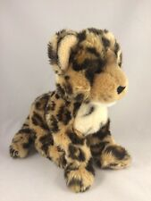 "Douglas Cuddle Toys Plush Spotted Leopard Cub 13"" Stuffed Animal Soft"