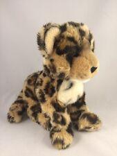 "Douglas Cuddle Toys Plush Spotted Leopard Cub 13"" Stuffed Animal Soft"