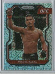 MIGUEL BAEZA 2021 Panini UFC Prizm ROOKIE Mojo 16/25