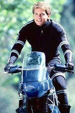 Rex Smith As Jesse Mach In Street Hawk 11x17 Mini Poster Great Pose On Bike
