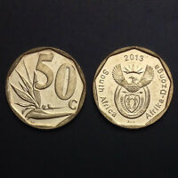 South Africa 50 Cents , Random year, KM#NEW, Single coin, UNC, Original