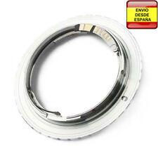 Anillo adaptador lentes Yashica / Contax a Canon EOS EF-S confirmacion AF