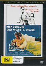 a Lovely Way to Die DVD Kirk Douglas Sylva KOSCINA 1968 as