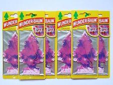 (1,50 €/Unità) 6x miracolo-ALBERO ® Berry Burst profumo PASTIGLIE ricarica deodorante fruttato bacche