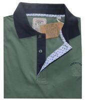 POLO UOMO taglie forti 3XL 4XL 5XL 6XL maglia manica corta verde Be Board