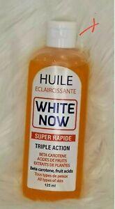 White Now Huile Eclaircissante Oil 125ml