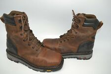 0ccdb595109 Justin Leather Waterproof Boots for Men | eBay