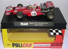 POLICAR CAR04A MARCH 701 F1 #10 2º SPA 1970 CHRIS AMON   MB