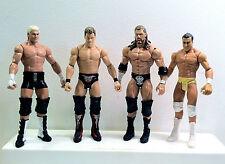 WWE Assorted Mattel Elite Loose Lot. Jericho, Ziggler, Del Rio, Triple H (HHH).