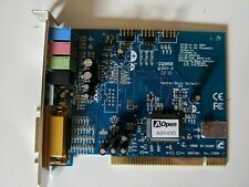 AOpen AW-840 4 Channel PCI Sound Card w/ CD & Original Box