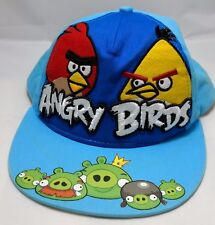 ANGRY BIRDS snapback hat cap adjustable rovio blue
