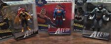 DC Comics, All Star Superman, Batman, & Batgirl Series 1 by Jim Lee, Set Of 3