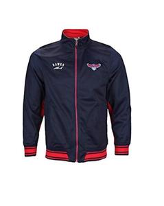 Zipway NBA Men's Atlanta Hawks Anderson Basketball Track Jacket, Navy