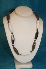 "NEW - KAZURI 22"" Freefall Beaded Necklace Oyster sku #1771"