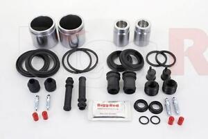 for MAZDA MX-5 MK1/2 90-05 FRONT & REAR Brake Caliper Seal Kit + Pistons (FK16)