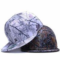 Cool Hip Hop Cap Sun Baseball Hat Fitted Adjustable Snapback Flat Brim Men Women
