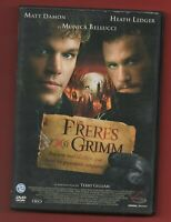 DVD - LES FRERES GRIMM avec Matt Damon, Monica Bellucci et Heath Ledger