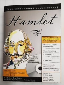 William Shakespeare Hamlet The Sourcebooks Includes BOOK and CD of Perfomances