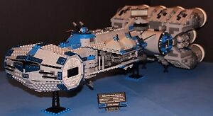 LEGO® brick STAR WARS™ Custom 10019 Blue REBEL BLOCKADE RUNNER UCS 100% LEGO