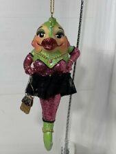December Diamonds Betty Bass mermaid ornament no box 5� small flaw