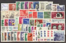DDR Postfrische Briefmarken der DDR (1960-1970)