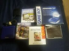 Nintendo Game Boy Advance SP AGS-001 WITH BOX!!