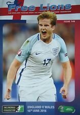 Free Lions Issue 146 16/6/2016 England vs Wales @ Lens