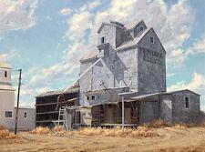 """Western Skyscraper"" Carole Cooke Limited Edition Fine Art Giclee Canvas"