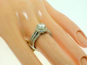SCOTT KAY PALLADIUM HALO MOUNTING 0.48 CTW DIAMONDS-SIZE 6.5 US-RETAIL $2,999.00