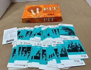 Vintage Pit Card Game 1964 Parker Brothers *read*
