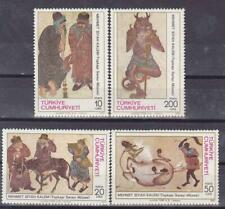 TURKEY 1987 MINIATURES BY M. SIYAHKALEM MNH C1542