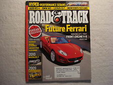 Road & Track 2008 June Mazda RX-7 Lotus Eagle Maserati Nissan GT-R Jaguar F Type