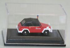 Schuco 1:87 VW Kübelwagen Feuerwehr neuwertig in OVP (JS9687)