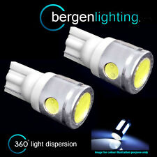 2x W5W T10 501 XENO BIANCO 3 LED SMD LUCE TARGA LAMPADINE HID np101102