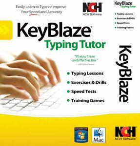 Keyblaze Typing Tutor Software