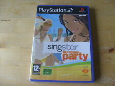 SingStar Summer Party (Sony PlayStation 2, 2008) PS2 - NEW - SEALED