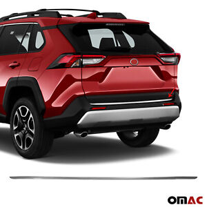Chrome Rear Tailgate Trunk Lid Moulding Trim Fits Toyota RAV4 XA50 2019-2021