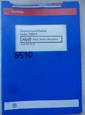 Werkstattbuch Reparaturleitfaden VW Lupo 1999 > Radio, Telefon, Navigation #6510
