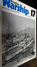 PROFILE WARSHIP #17: RN ZARA: HEAVY CRUISER 1929-1941 / Aldo Fraccaroli (1972)