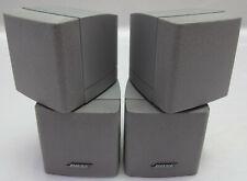 BOSE Doppel-Cube 2 Stück Lautsprecher Satelliten Lifestyle Acoustimass Silber