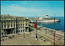 AA1328 Trieste - Città - Piazza dell'Unità d'Italia - Nave attraccata