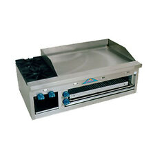 """Comstock Castle Fhp48-36B 48"""" Griddle/Hotplate/Overfire d Cheesemelter Broiler"""